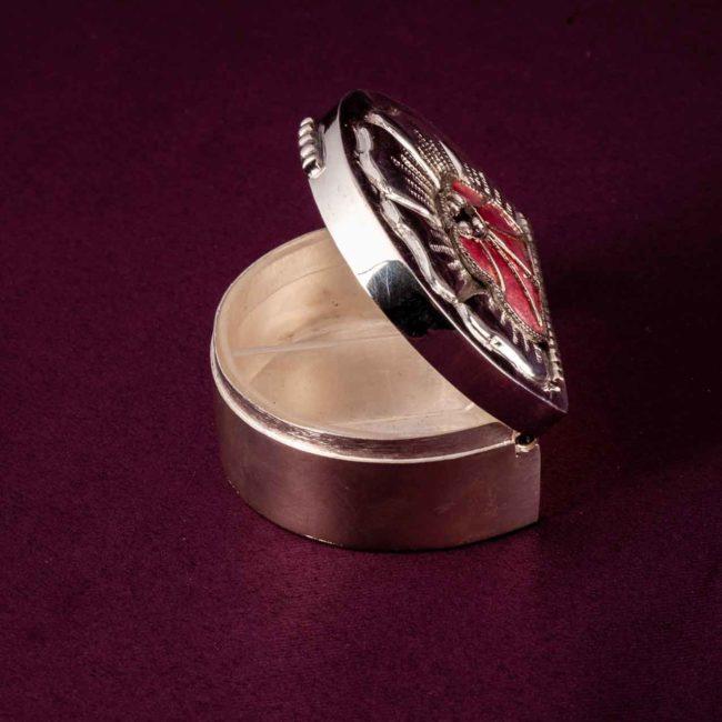 silver kumkum sindoor box 2